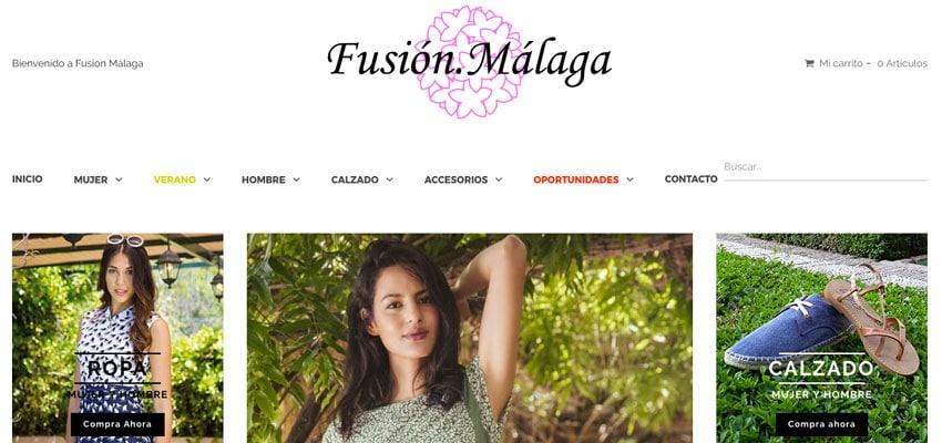 Portada Web Fusión Málaga