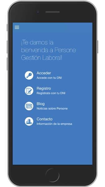 App Persone Gestión Laboral
