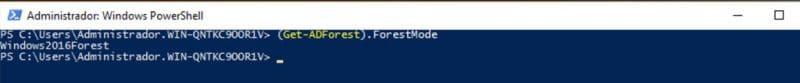 Cambiar el nivel de funcionalidad de Dominio Windows